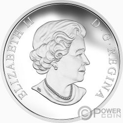 THUNDERBIRD Indigenous Art Silver Coin 25$ Canada 2018