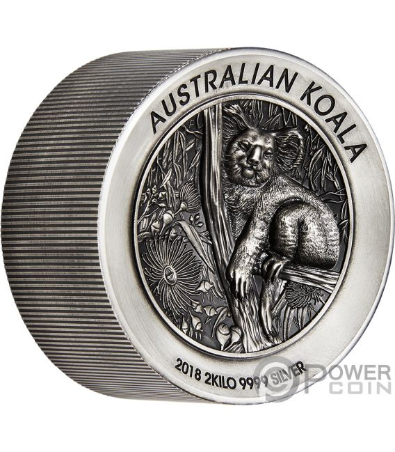Australian Koala 2 Kg Kilo Silver Coin 60 Australia 2018