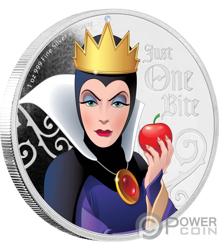 Evil Queen Snow White Seven Dwarfs Disney Villains 1 Oz