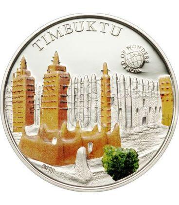 TIMBUKTU World Of Wonders 5$ Silver Coin Palau 2011