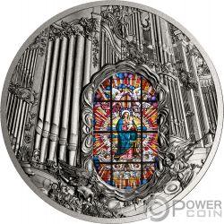 OLIWA ORGAN Archcathedral 2 Oz Серебро Монета 2000 Франков Камерун 2018