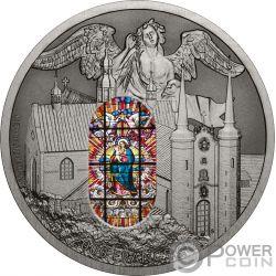 OLIWA ORGAN Erzkathedrale 2 Oz Silber Münze 2000 Franken Cameroon 2018