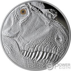 TYRANNOSAURUS REX Fierce Gaze 1 Kg Kilo Silver Coin 250$ Canada 2018