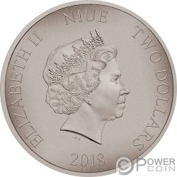 BATTLE OF MARATHON Battles That Changed History 1 Oz Silver Coin 2$ Niue 2018