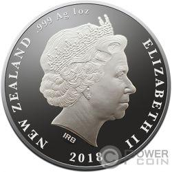 ROYAL WEDDING Königliche Hochzeit Harry Meghan 1 Oz Silber Münze 1$ New Zealand 2018
