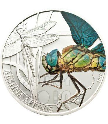 LIBELLULA World Of Insects Moneta Argento 2$ Palau 2010