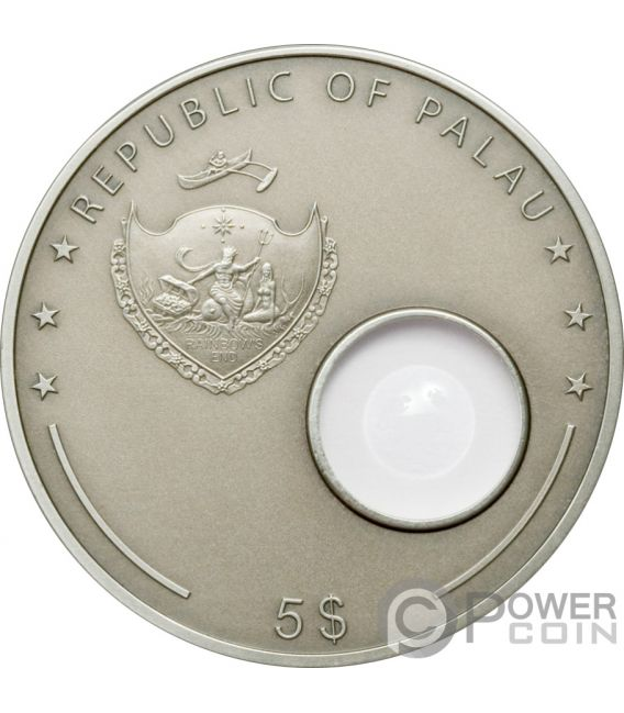 HANS LIPPERSHEY Telescope Invention Silver Coin 5$ Palau 2008