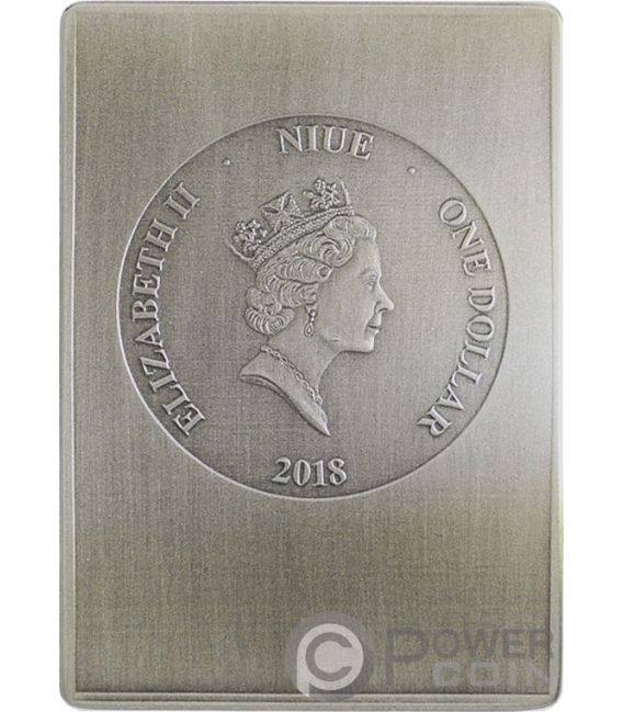 AURELIUS POLION Tebtunis Papyri Silver Coin 1$ Niue 2018