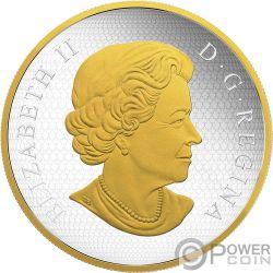ANTIQUE CAROUSEL Carosello Miniatura Mobile 6 Oz Moneta Argento 50$ Canada 2018