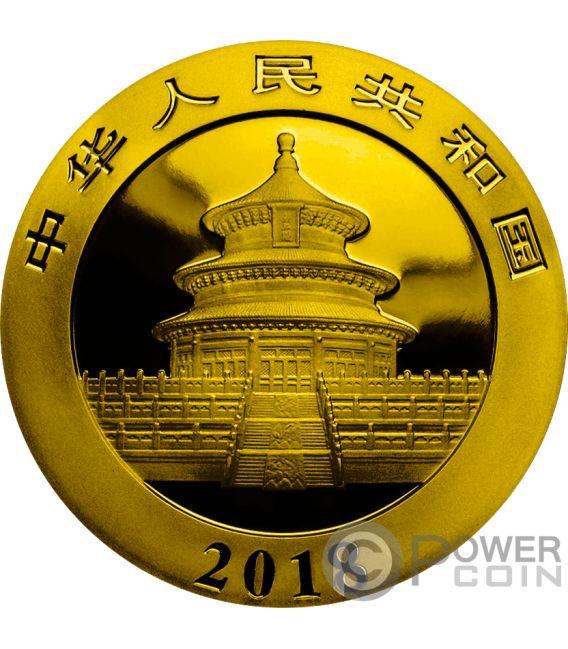 Chinese Flag Panda Silver Coin 10 Yuan China 2018 Power Coin