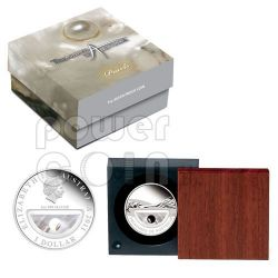 PEARLS Treasures Of Australia Silver Proof Locket Coin 1$ 2011