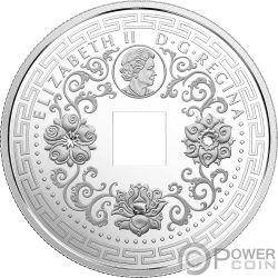 FIVE BLESSINGS Fünf Segen Good Luck Charms Silber Münze 8$ Canada 2018