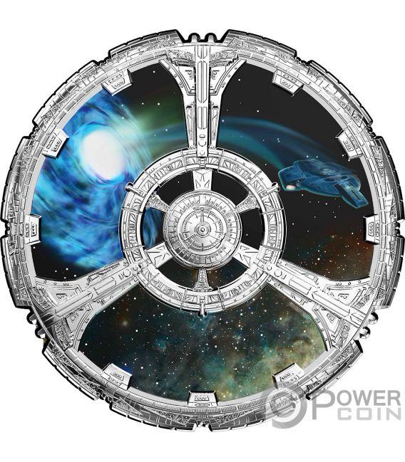 Deep Space Nine 25th Anniversary Star Trek Silver Coin 20
