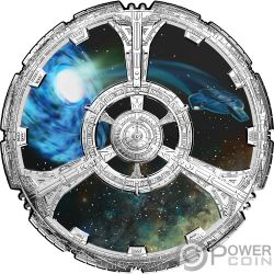 DEEP SPACE NINE 25th Anniversary Star Trek Silver Coin 20$ Canada 2018