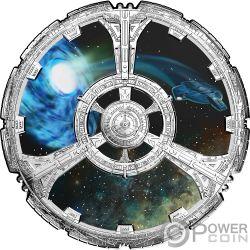 DEEP SPACE NINE Star Trek 25 Aniversario Moneda Plata 20$ Canada 2018