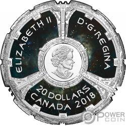 DEEP SPACE NINE 25th Anniversary Star Trek Серебро Монета 20$ Канада 2018