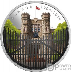 ROYAL CANADIAN MINT Ceca Canadiense 110 Aniversario 2 Oz Moneda Plata 30$ Canada 2018