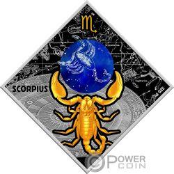 SCORPIO Zodiac Signs Silver Coin 100 Denars Macedonia 2018