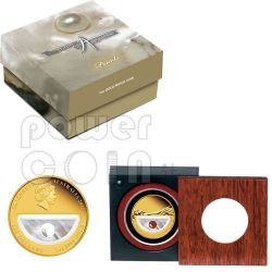 PEARLS Treasures Of Australia 1 Oz Gold Proof Münze 100$ 2011