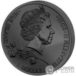 CZECH LION Tschechischer Löwe Golden Enigma 1 Oz Silber Münze 2$ Niue 2018