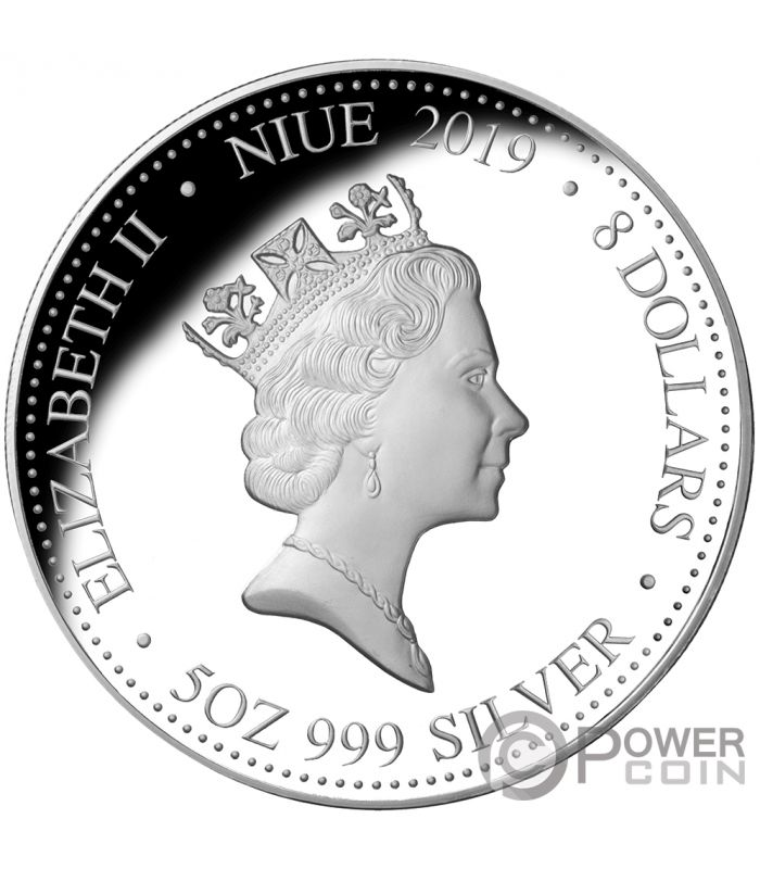 Dedicated 2014 Niue $2 Dollars 999 Silver Year Of The Horse Lunar Coloured Proof Coin Australia & Oceania