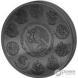 LIBERTAD Freiheit Golden Enigma 1 Oz Silber Münze Mexico 2018