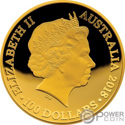 1626 A NEW MAP OF THE WORLD Terrestrial Dome 1 Oz Золото Монета 100$ Австралия 2018