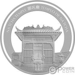 PIG Maiale Lunar Year 1 Oz Moneta Argento 20 Patacas Macao Macau 2019