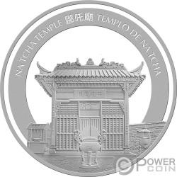 PIG Maiale Lunar Year 5 Oz Moneta Argento 100 Patacas Macao Macau 2019