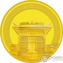 PIG Cerdo Lunar Year Moneda Oro 250 Patacas Macao Macau 2019