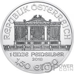 KISS Kuss 100 Jahrestag Gustav Klimt 1 Oz Silber Münze 1.5€ Austria 2018