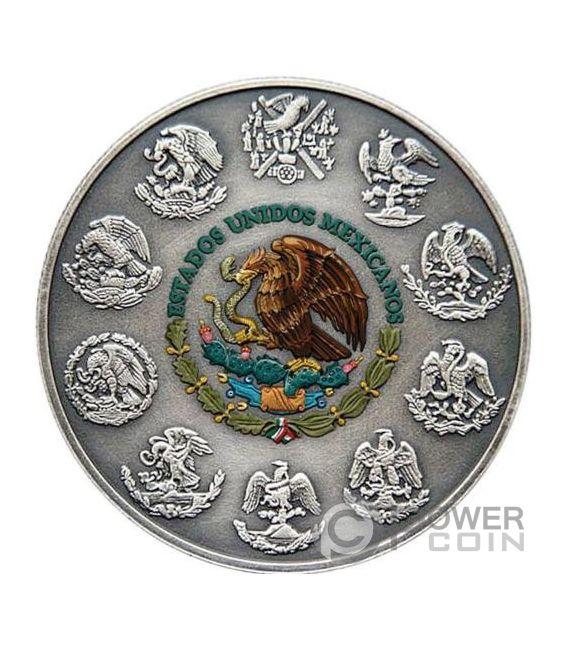 Skull Candle Libertad 1 Oz Silver Coin Mexico 2017 Power