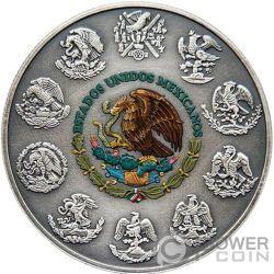 SKULL CANDLE Libertad 1 Oz Silver Coin Mexico 2017