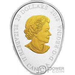 FOUR SEASONS OF THE MAPLE LEAF Hoja Arce Forma 1 Oz Moneda Plata 20$ Canada 2018