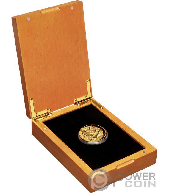 END OF WORLD WAR I 100th Anniversary 2 Oz Gold Coin 200$ Australia 2018
