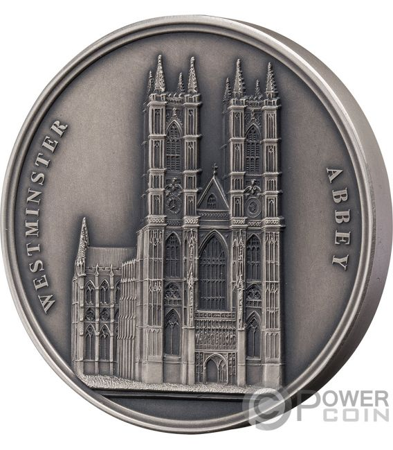 WESTMINSTER ABBEY Mauquoy Infinity Minting Silver Coin 1500 Francs Benin 2018