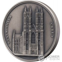 WESTMINSTER ABBEY Mauquoy Infinity Minting Silber Münze 1500 Franken Benin 2018