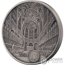 WESTMINSTER ABBEY Mauquoy Infinity Minting Silber Münze 1500 Franken Benin 2018
