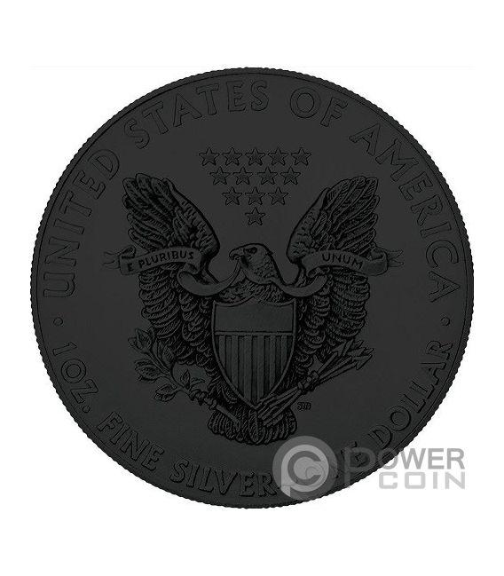 AMERICAN SKULL Walking Liberty 1 Oz Silver Coin 1$ US Mint 2018