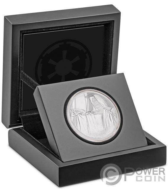 EMPEROR PALPATINE Star Wars Classic 1 Oz Silber Münze 2$ Niue 2018