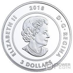 OCTOBER Oktober Birthstone Swarovski Crystal Silber Münze 5$ Canada 2018