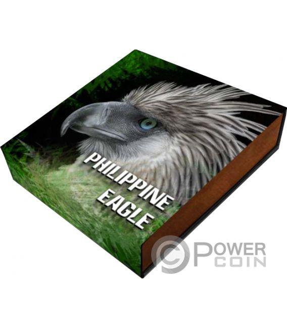 PHILIPPINE EAGLE Aquila Sky Hunters 1 Oz Moneta Argento 2$ Niue 2018