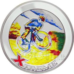 MOUNTAIN BIKE Sport Estremi Moneta Argento 10D Andorra 2007