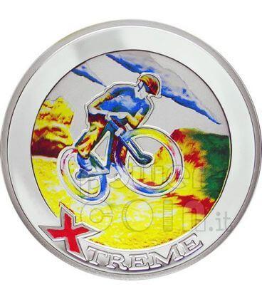 MOUNTAIN BIKE Sport Estremi Moneta Argento 10D Andorra 2007