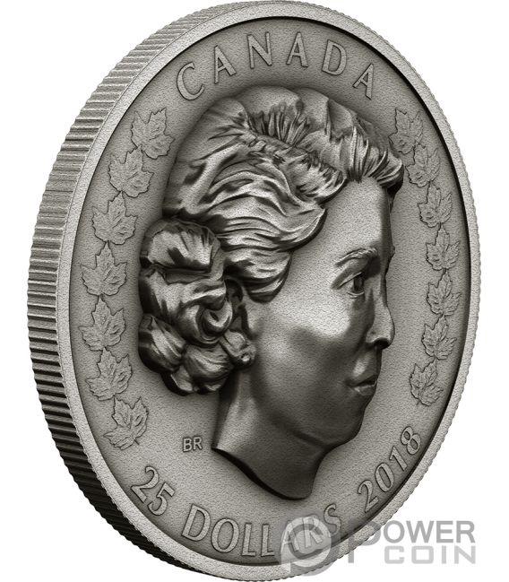New Queen Elizabeth Ii 1 Oz Silver Coin 25 Canada 2018