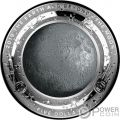 MOON World Beyond 1 Oz Silver Coin 5$ Australia 2019