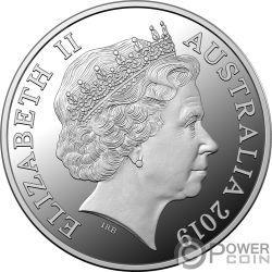 PIG Lunar Year 1 Kg Серебро Монета 30$ Австралия 2019