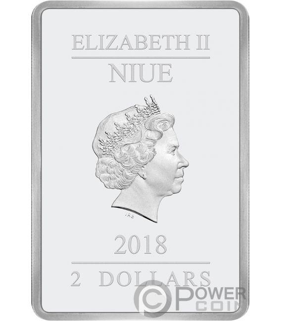 SEASONS GREETINGS Disney Classics 1 Oz Silver Coin 2$ Niue 2018
