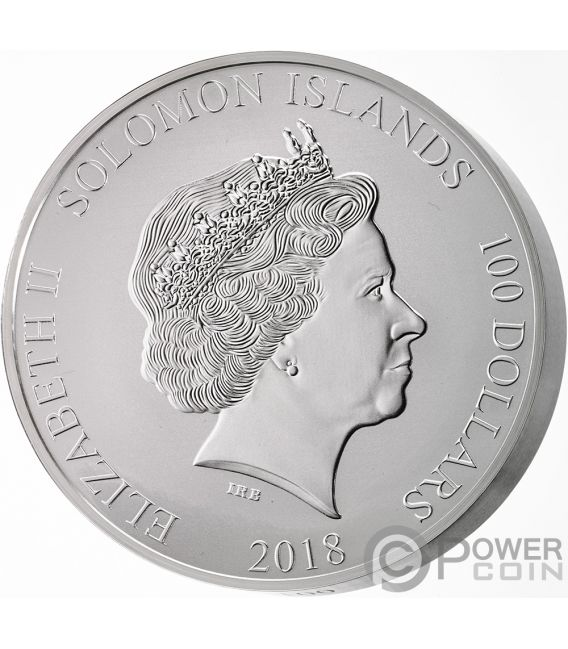 ANDERSEN FAIRY TALES Once Upon Time 1 Kg Kilo Silver Coin 100$ Solomon Islands 2018