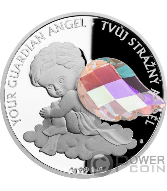 GUARDIAN ANGEL 1 Oz Silver Coin 2$ Niue 2018
